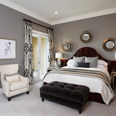 Transitional Bedroom by IBB Design Fine Furnishings