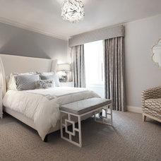 Contemporary Bedroom by Patricia Bonis Interiors, Inc.