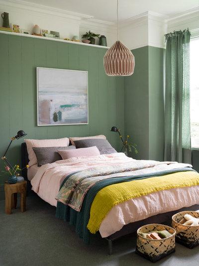 Contemporary Bedroom by Ali Attenborough