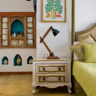 Idée de décoration pour une chambre asiatique.