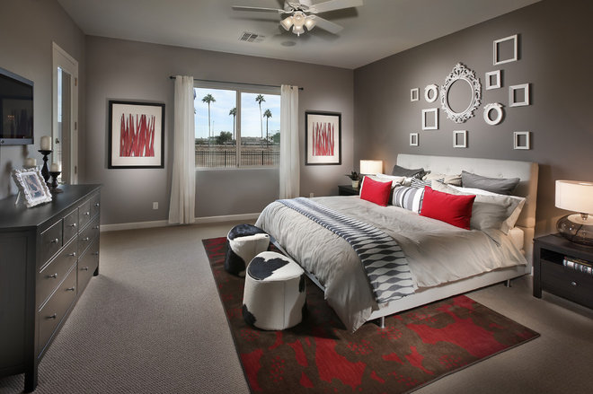 Contemporary Bedroom by In House Interior Design