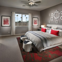 modern bedroom by Lennar - West Region