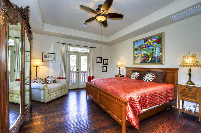 Traditional Bedroom by Imaging Austin