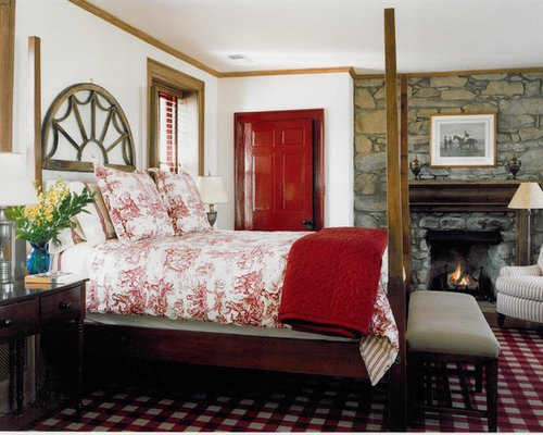 red bedrooms ideas | houzz