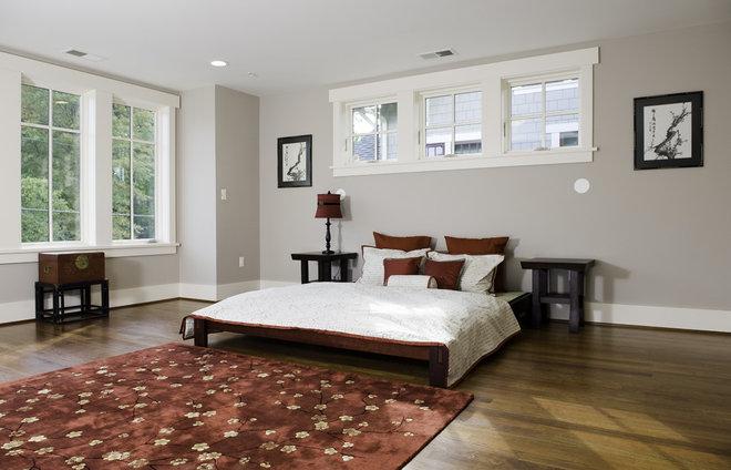 Asian Bedroom by Christian Gladu Design