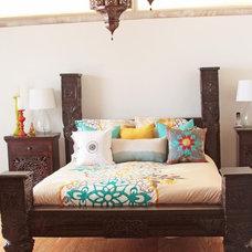 Eclectic Bedroom by Tara Design