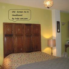 Asian Bedroom by Inde-Art Design House
