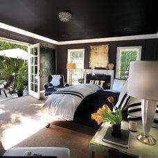 Contemporary Bedroom by Philip Nimmo Design