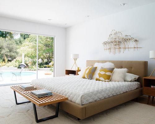 midcentury master bedroom design ideas renovations photos