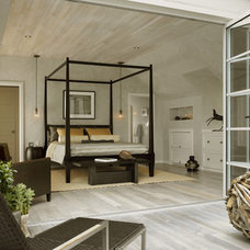 Contemporary Bedroom by Cathleen Gouveia Design