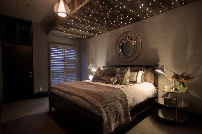 Industrial Bedroom by Avalon Interiors