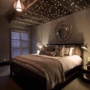 Inspiration för industriella sovrum