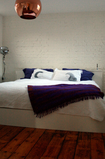 Industrial Bedroom by Cassidy Hughes Interior Design & Styling
