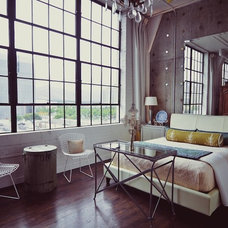 Industrial Bedroom by cityhomeCOLLECTIVE