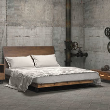 Industrial Bedroom by Warehouse74