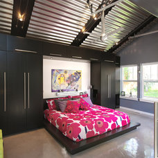 Contemporary Bedroom by Renovation Design Group