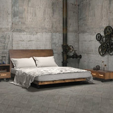 Industrial Bedroom by Zin Home