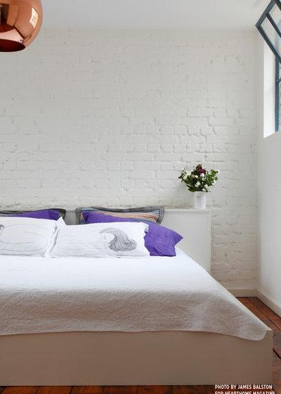 Industrial Bedroom by Cassidy Hughes Interior Design