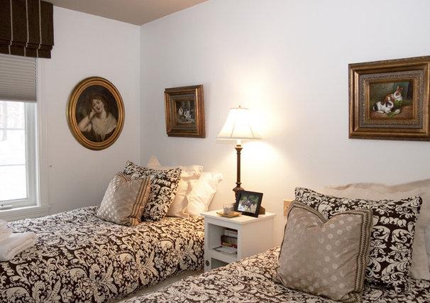 Traditional Bedroom by Ingrid Porter Interiors, LLC