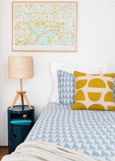 コンテンポラリー 寝室 by Emma Blomfield