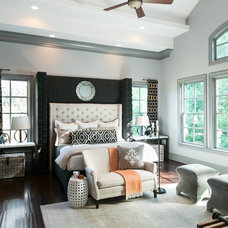 Transitional Bedroom by Innovation House GA