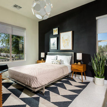 Inspired Mid-Century Modern Home for Pardee Homes Las Vegas
