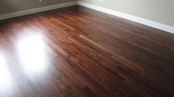 Install, Sand and Finish: Arkansas Black Walnut Solid Hardwood Floor
