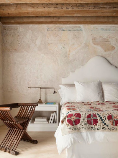 Mediterranean Bedroom by Ancient Surfaces