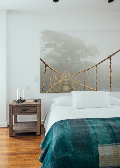 Eclectic Bedroom by Faith Blakeney Design Studio