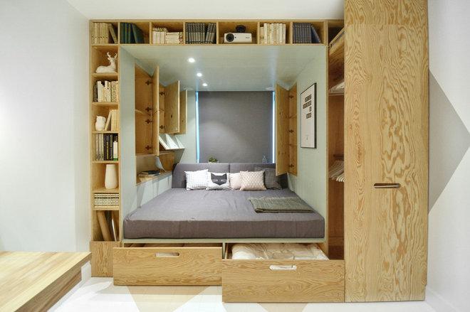 Contemporáneo Dormitorio by INT2architecture