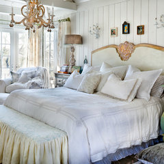eclectic bedroom by Bill Mathews Photographer, Inc