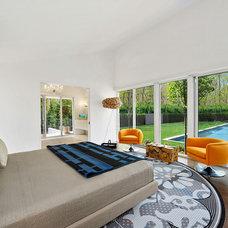 Contemporary Bedroom by Nigel Lewis Design LLC