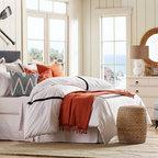 Wharf House Beach Style Bedroom Portland Maine By