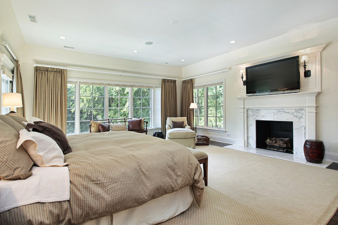 Contemporary Bedroom by PREFERRED HOME BUILDERS INC