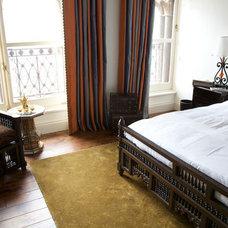 Traditional Bedroom Interior Design Residential Penthouse London - Moroccan Bazaar