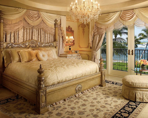 Royal bedroom houzz for Bedroom designs royal