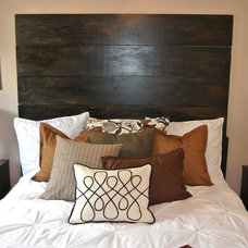 Contemporary Bedroom by The Staged Style