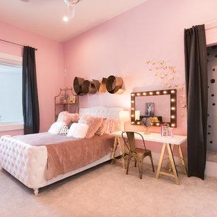 オーランドのコンテンポラリースタイルのおしゃれな寝室のレイアウト
