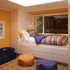 Eclectic Bedroom by Landmark Builders