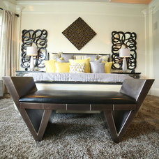 Transitional Bedroom by Interior Motives by Will Smith LLC
