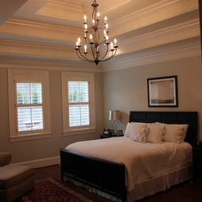 Traditional Bedroom by Slate Barganier Building, Inc