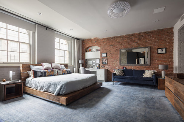 Industrial Bedroom by Simonian Rosenbaum Architects