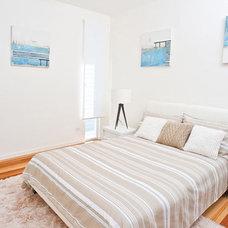 Contemporary Bedroom by SBT Designs