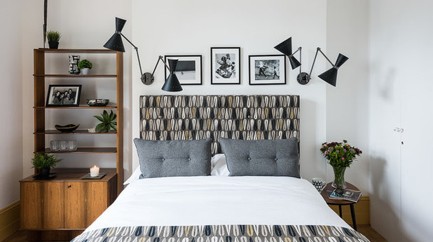 Create Calm With a Midcentury Modern Bedroom