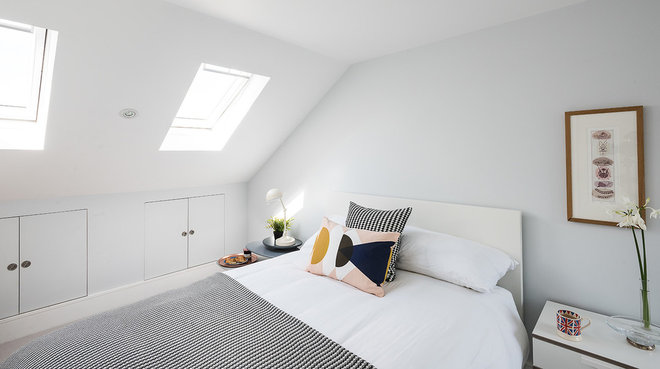 Scandinavian Bedroom by Tribe Creative London