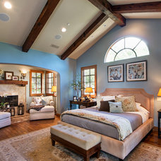 Mediterranean Bedroom by Sonoma Real Estate Photography