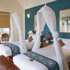 Asian Bedroom by Blue Impulse
