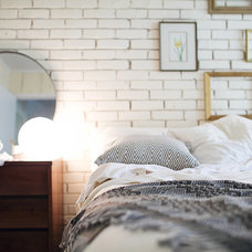 Midcentury Bedroom by christina loucks designs + styling