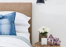 wall mounted bedside lamp