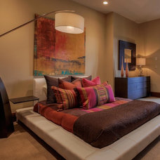 Contemporary Bedroom by PCM Inc